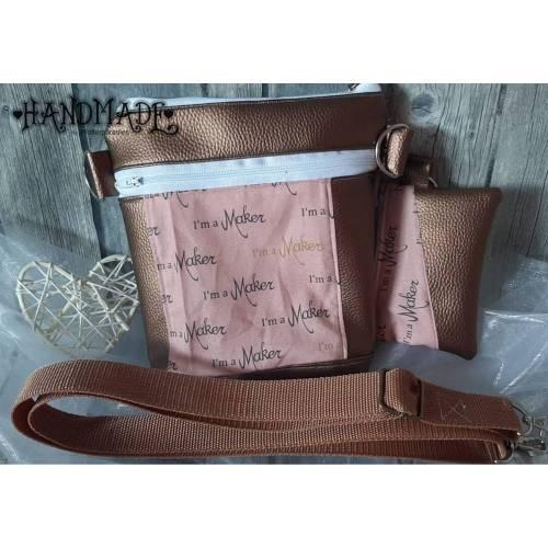 Funny Bag Cross Bag Laila Bag Kupfer