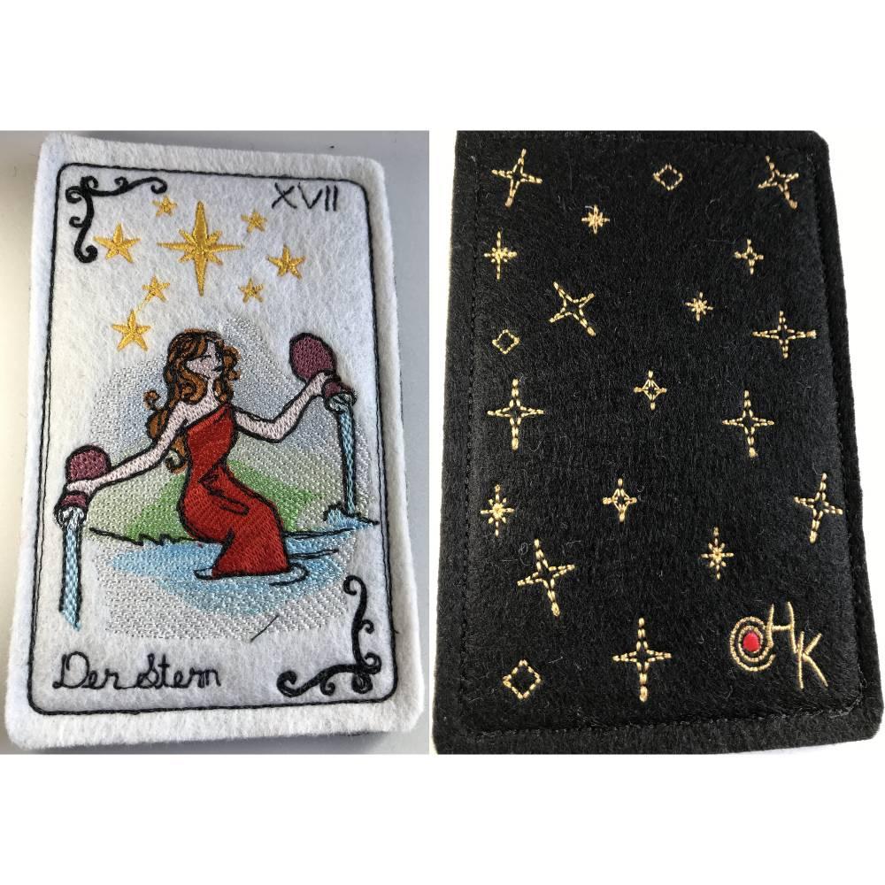Tarot-Karte 'Der Stern'  /  'The Star'  aus dem Großen Arkana Bild 1