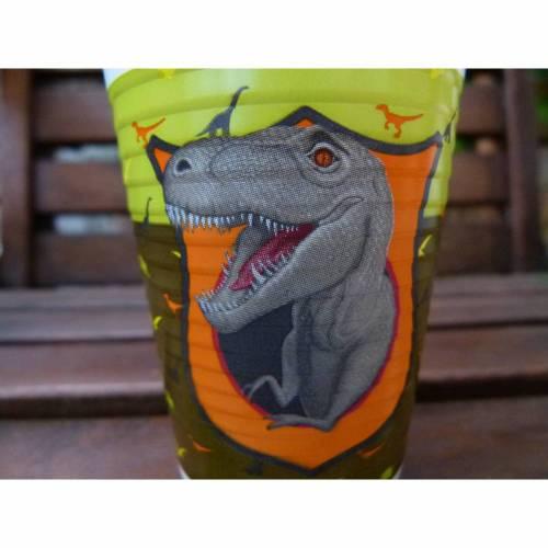 4 Becher für Party - Dinosaurier * Dino * Mottoparty * Dinoparty * Kindergeburtstag * Tischdeko * Trinkbecher * Getränke