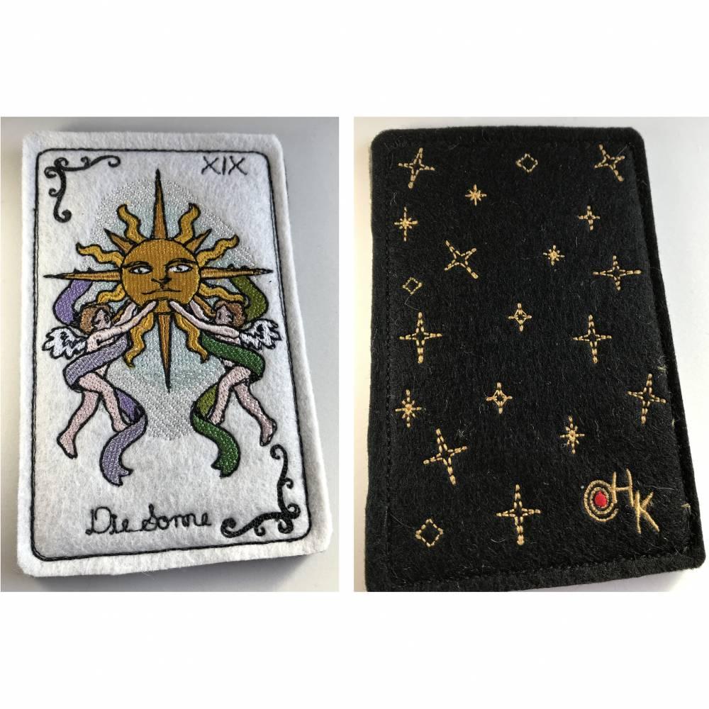 Tarot-Karte 'Die Sonne'  /  'The Sun'  aus dem Großen Arkana Bild 1