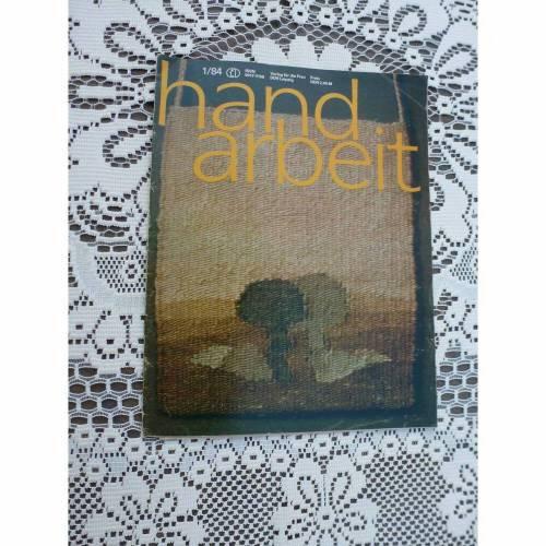 Handarbeit - Zeitschrift - 1/84 - DDR - Verlag für die Frau
