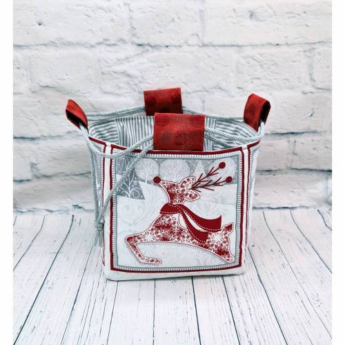 Projekttasche Größe M , Knitting Bag , Drawstring Bag , Bag for Knitting , Craft Bag , Yarn Bag , Strickbeutel