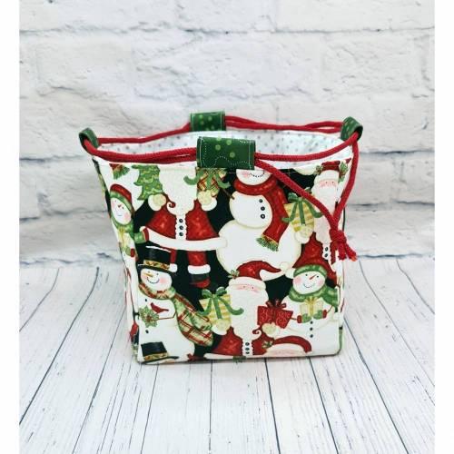 Projekttasche Größe M , Knitting Bag , Drawstring Bag , Bag for Knitting , Craft Bag , Yarn Bag , Strickbeutel , skandin