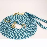 Hundeleine, Leine aus Paracord Verstellbar oder Handschlaufe in Wunschfarben, verschiedene Längen erhältlich Bild 1