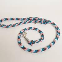 Hundeleine, Leine aus Paracord Verstellbar oder Handschlaufe in Wunschfarben, verschiedene Längen erhältlich Bild 3