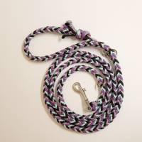 Hundeleine, Leine aus Paracord Verstellbar oder Handschlaufe in Wunschfarben, verschiedene Längen erhältlich Bild 5