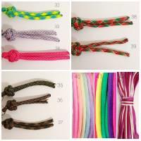 Hundeleine, Leine aus Paracord Verstellbar oder Handschlaufe in Wunschfarben, verschiedene Längen erhältlich Bild 8