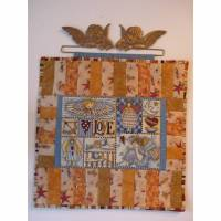 Engelbild Miniquilt Engel Bild mit Engel Wandbild Wanddeko Kinderzimmerdeko Schutzengel Bild 1