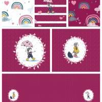 Sommersweatpaket Regenmädchen, insgesamt 2,10 m Bild 1