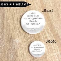 Zitat Joachim Ringelnatz Button oder Magnet  Bild 2