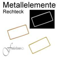 METALLELEMENTE | TRÄGERELEMENTE | Rechtecke für DIY Peyote- und andere Techniken mit Miyuki Perlen Bild 1