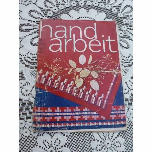 Handarbeit - Zeitschrift - 4/77 - DDR - Verlag für die Frau