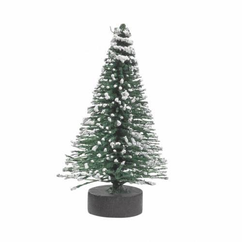 Mini-Tanne grün/weiss ca. 6 cm