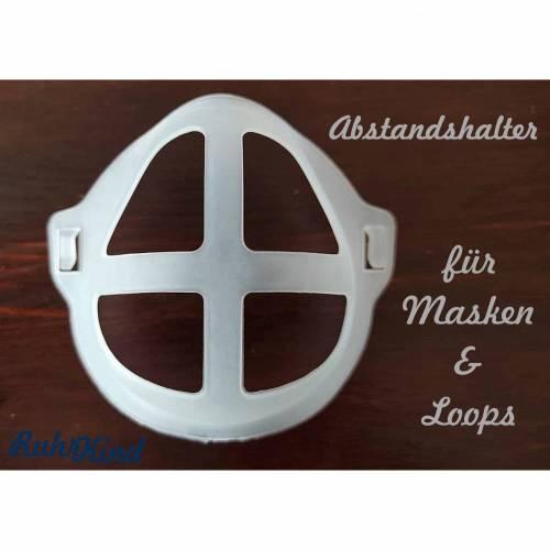 Abstandshalter für Masken - 3D Halterung