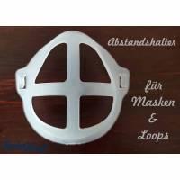 Abstandshalter für Masken - 3D Halterung Bild 1