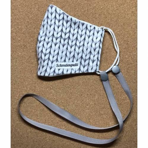 Maskenkette Maskenband Maskenhalter Schnutenpulli Behelfsmas