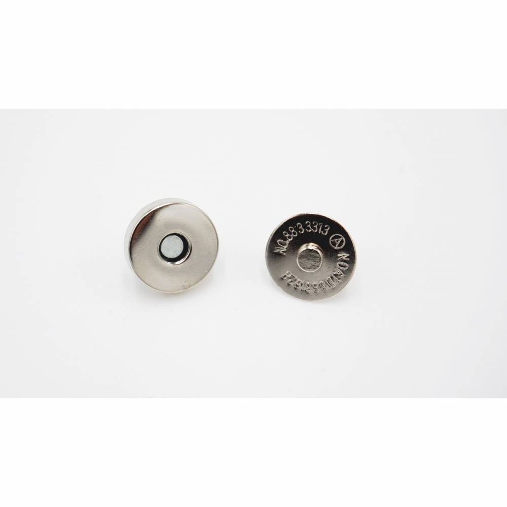 Magnetverschluss 14mm silber / nickel Bild 1