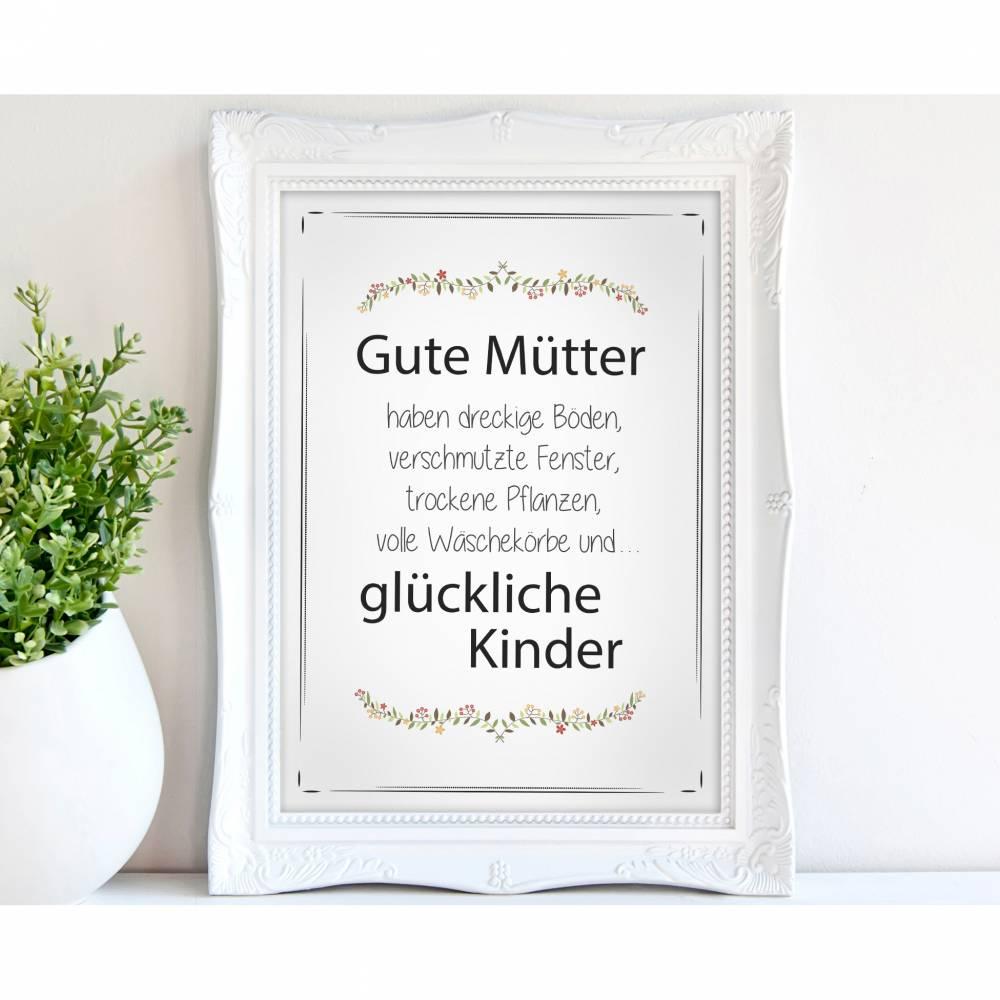 GUTE MÜTTER - A4 / A3 - Kunstdruck  Bild 1