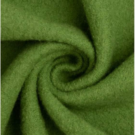 22,98 Euro/m Walk, heugrün, grün, gekochte Wolle, Wollwalk Naomi Bild 1