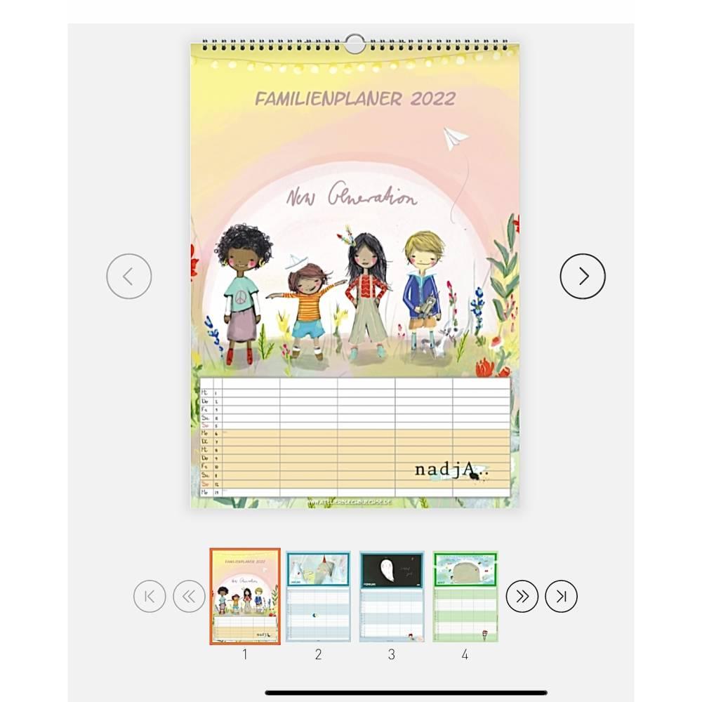 A3 Familienkalender 2021 VORBESTELLUNG  Bild 1
