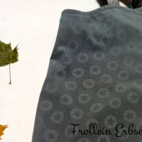 Sofortkauf - Schlichte Softshelljacke aus Magic Softshell mit Sternenmuster in Gr. 86 Bild 4