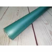 0,1m Kunstleder Rex smaragd metallic Bild 1
