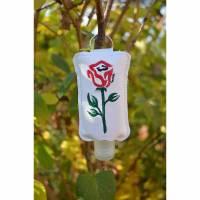 Desinfektionstasche Desinfektionsmitteltasche Anhänger Rose Bild 1
