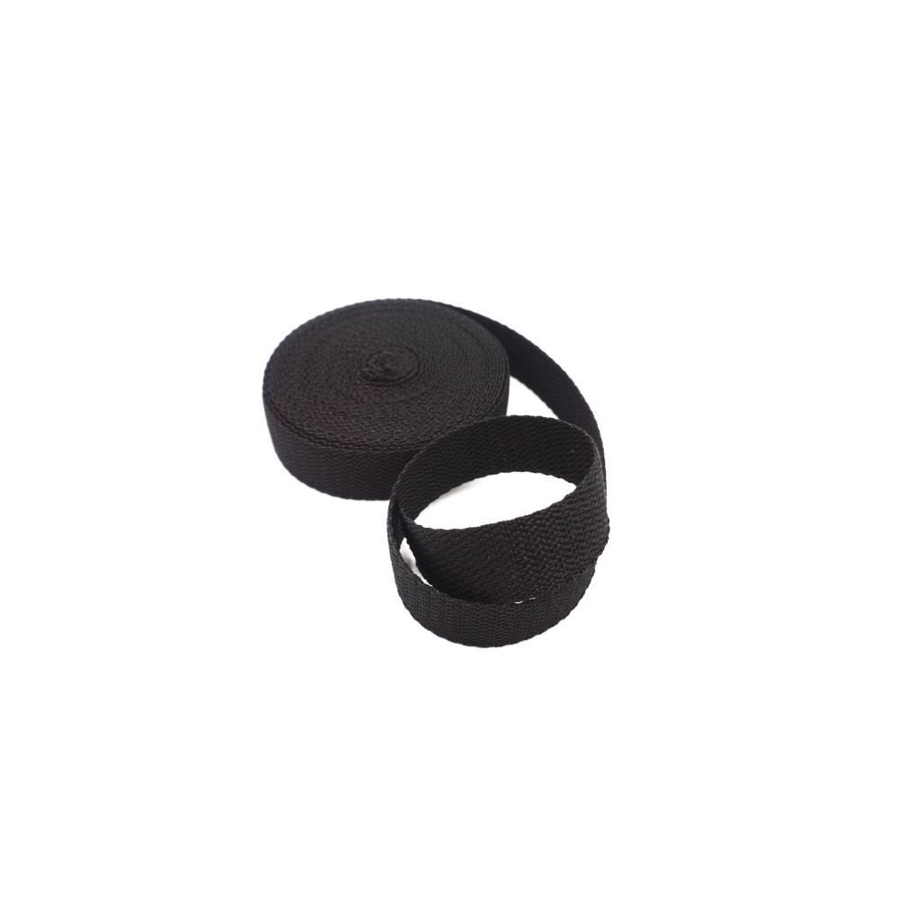 Gurtband - schwarz - 25 mm Bild 1