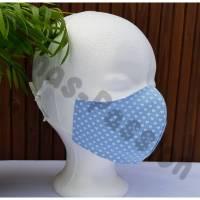 Mund Nasen Maske für Kinder 7-12 Jahre mit verstellbarem Gummiband Bild 1