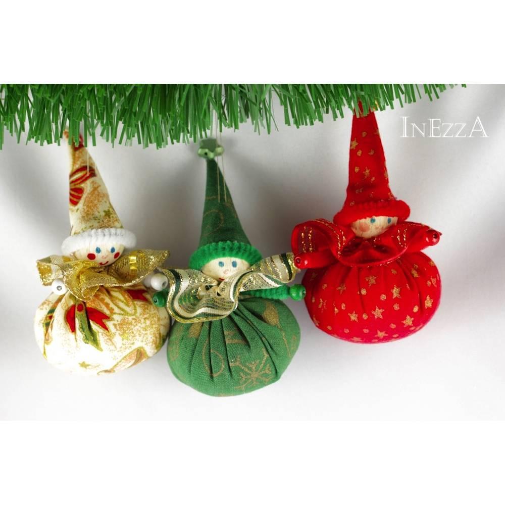 Wichtel Weihnachtsdeko Geschenkanhänger Baumanhänger  Bild 1