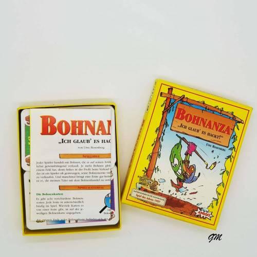 """vintage, Kartenspiel, Spiele,  Bohnanza """"ich glaub es hackt"""", Amigo CE7900, 3-5 Spieler 45 Minuten 12+"""