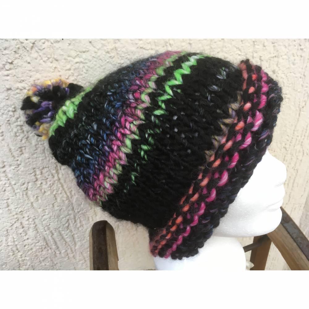 Mütze -  KU 54-56cm - Regenbogen - Farben Bild 1