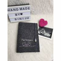 Mutterpasshülle, Mutterpass Hülle personalisiert, Hülle Namen, Schutzhülle Etui, Geschenk für Schwangere Bild 1