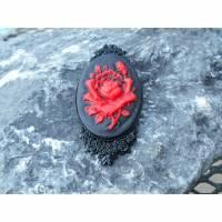 kamee Rose  Brosche Anstecker   Bild 1
