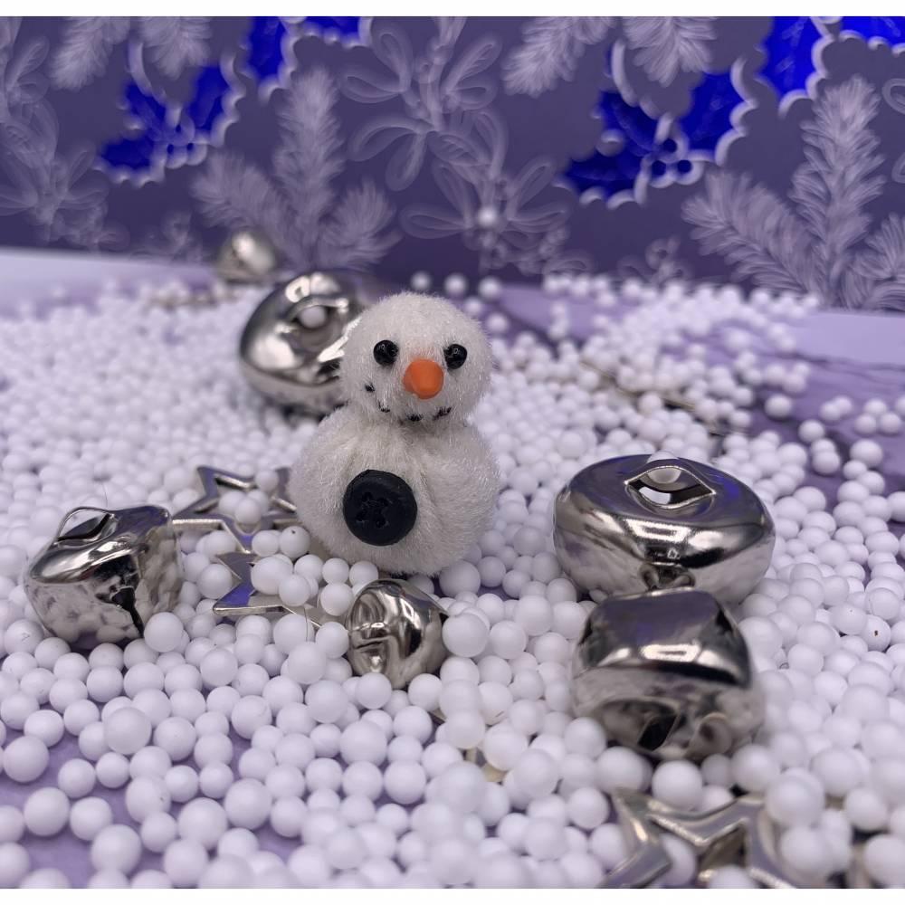 Bärino Schneemann Frosty 2,5 cm  ( 1Schneemann ) Bild 1