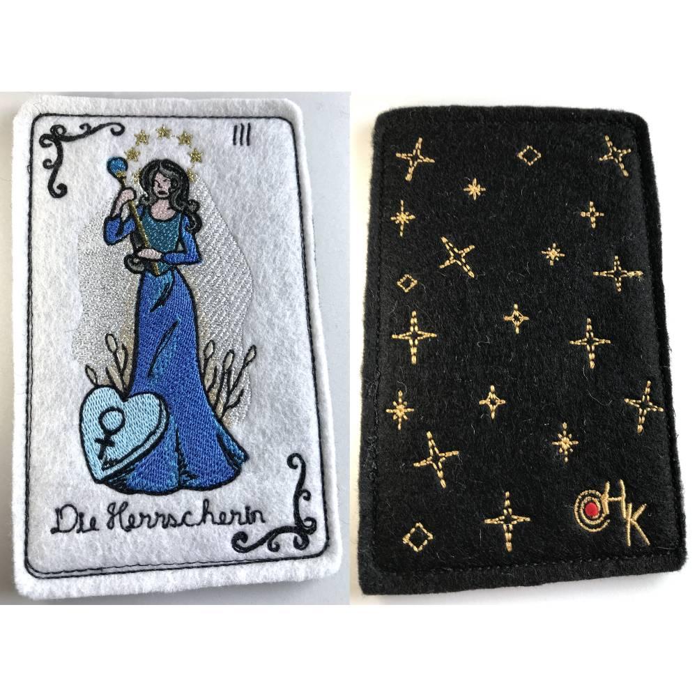 Tarot-Karte 'Die Herrscherin'  /  'The High Priestess' / 'The Empress' aus dem Großen Arkana Bild 1