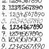 Set Schiefertürschild + Hausnummer, handbemalte Schiefertafel Pusteblume handbemalt individuell personalisierbar Bild 5