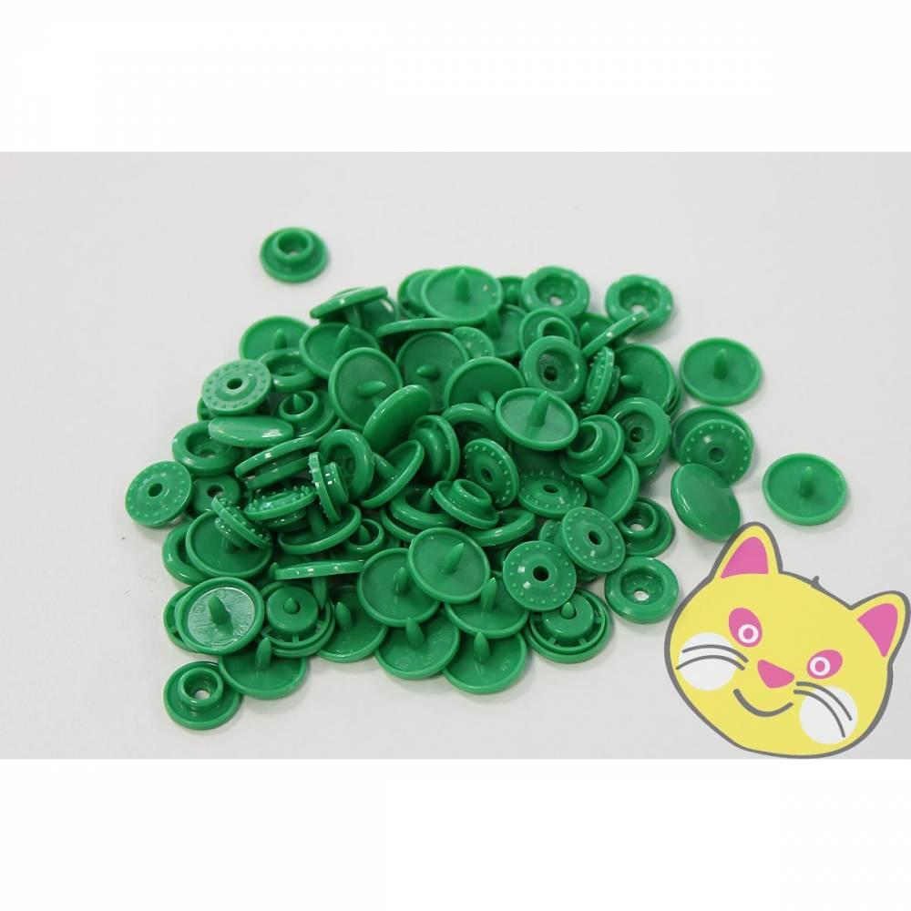 25 Kam Snaps T5 - Druckknöpfe - grün Bild 1