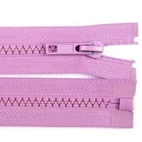 30cm Reißverschluss flieder - teilbar für Jacken Bild 1