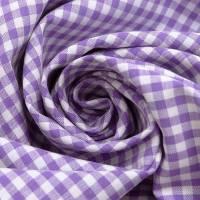Vichy Karo  lila flieder  Baumwolle 0,5cm