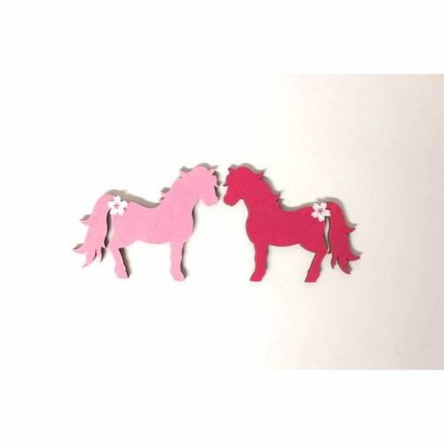 2 Ponys passend zu Holzbuchstaben