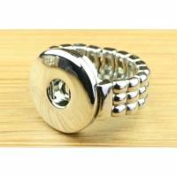 Druckknopf Ring, Größe S/L je nach Wahl, elastisch, 1 Stück Bild 1