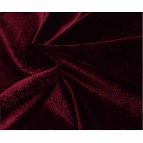 Samt purpur 50cm x 150cm
