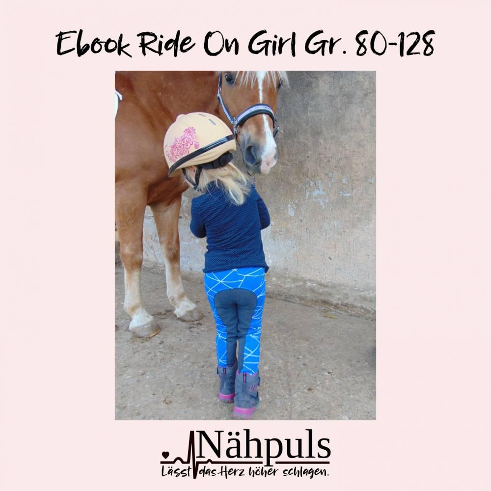 Ebook Reithose Ride On Girl Gr. 80 - 128 Bild 1