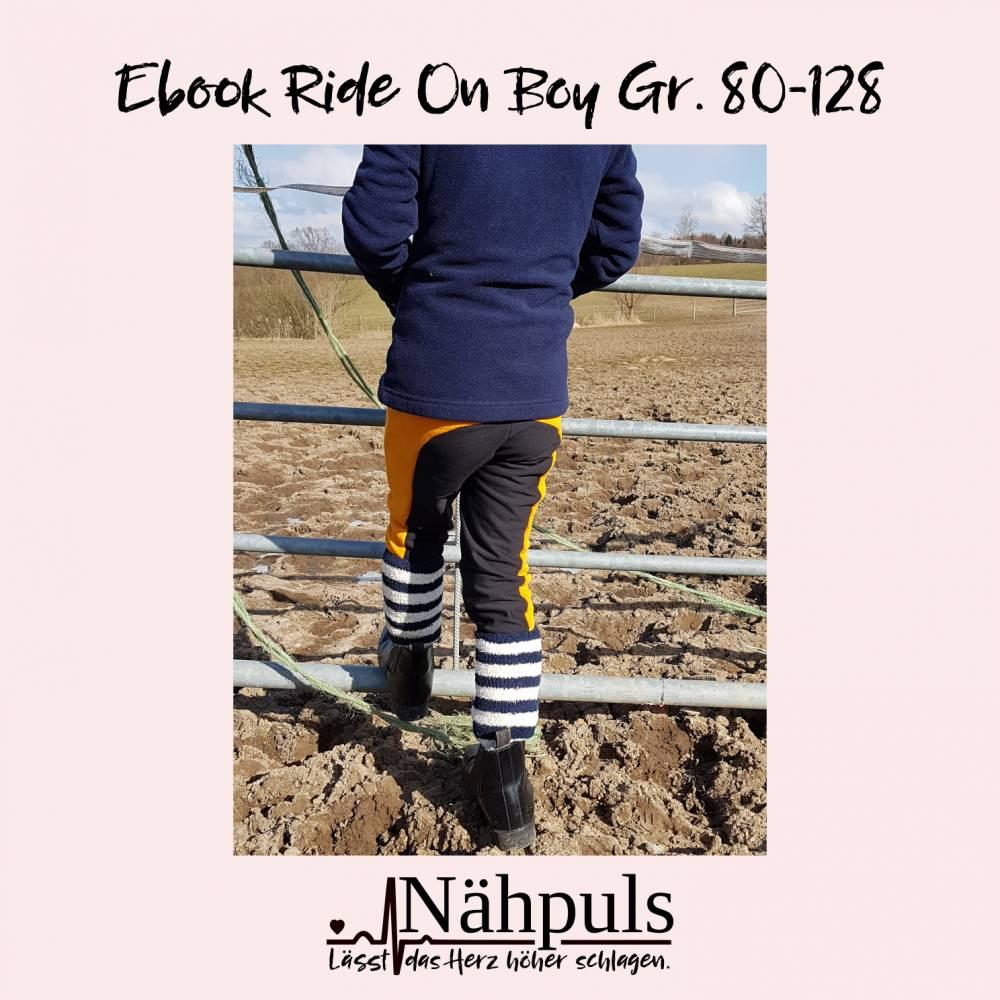 Ebook Reithose Ride On Boy Gr. 80 - 128 Bild 1