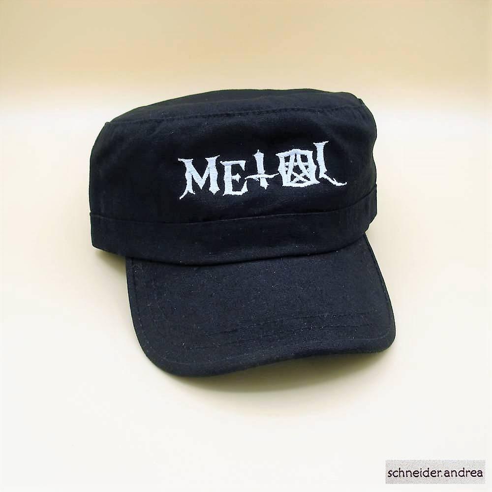 Bestickte Army - Cap METAL Bild 1