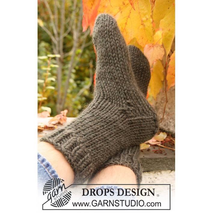 dicke Socken handgestrickt, dicke Wollsocken, Kuschelsocken Bild 1