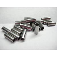 20 Edelstahl Hülsen 10x4 mm für eleganten Schmuck für Schmuckfertigung Bild 1