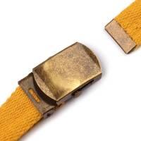 Gürtelschnalle 30 mm mit Endstück Bild 3
