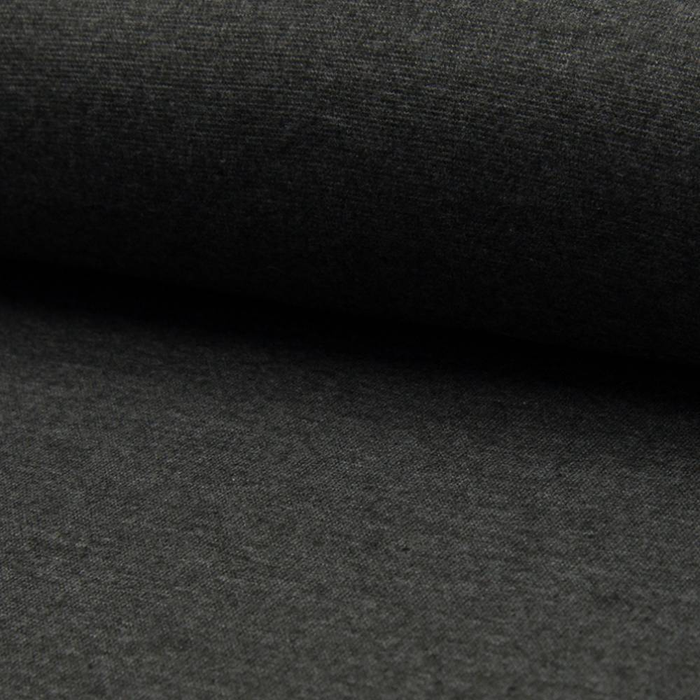 Bündchen grau meliert Bild 1